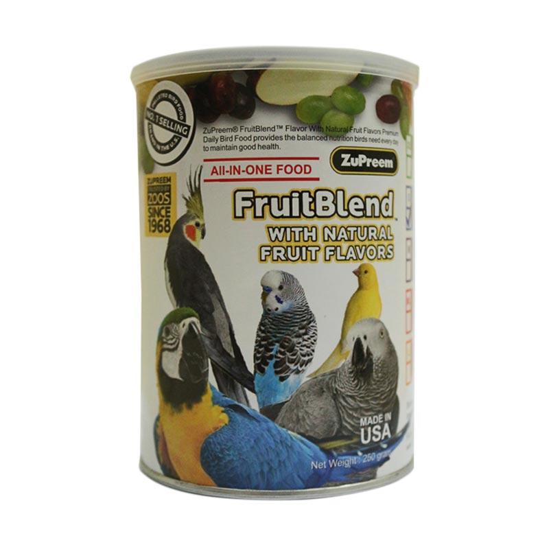 ZuPreem Fruit Blend M Pakan Burung [250 g]