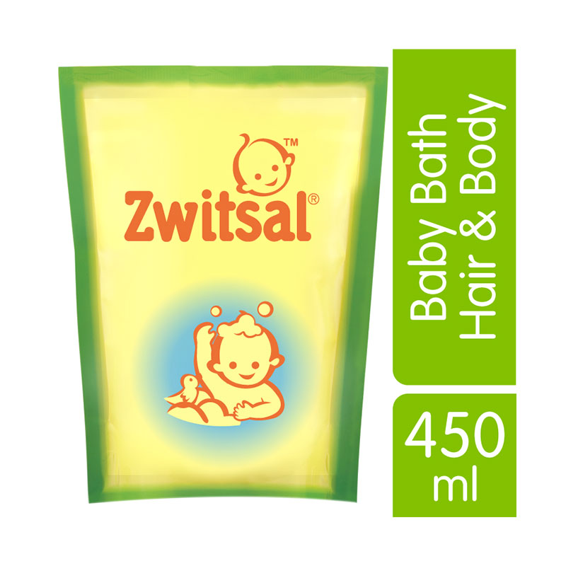 Zwitsal Baby Bath Hair & Body 450ml - 21152892
