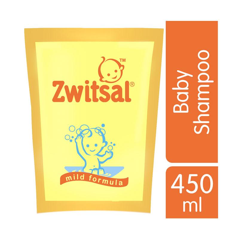 Zwitsal Baby Classic Shampoo 450ml Refill - 21184453
