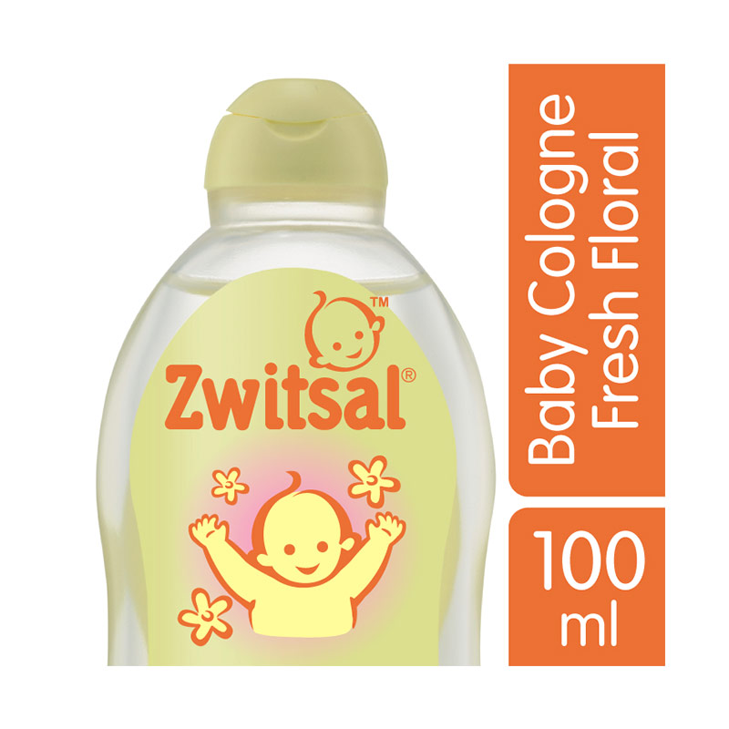 Zwitsal Baby Cologne New Baby Fresh Floral 100ml - 21142584