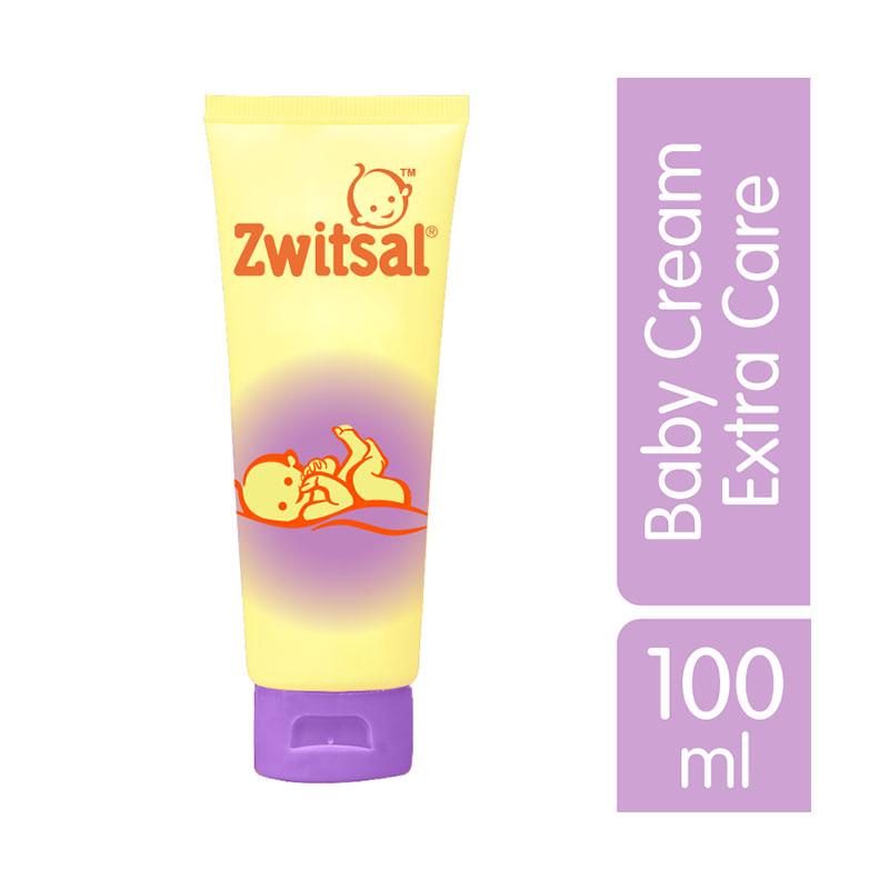 Zwitsal Baby Cream Extra Care Zinc 100ml - 60024417