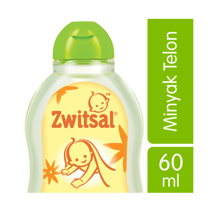 Zwitsal Baby Natural Minyak Telon 60 ml - 21023184