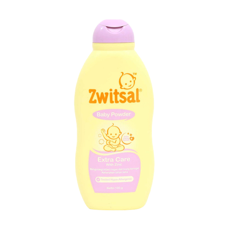 Zwitsal Baby Powder Extra Care with Zinc [100 gr]