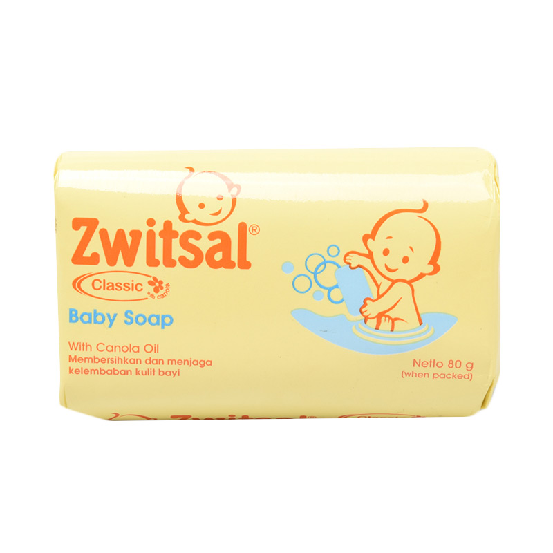 Zwitsal Classic Baby Bar Soap [80 gr]