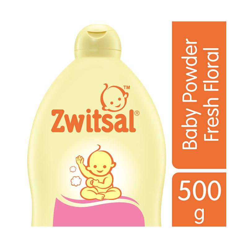 Zwitsal Classic Fresh Floral Baby Powder 500gr - 60024438