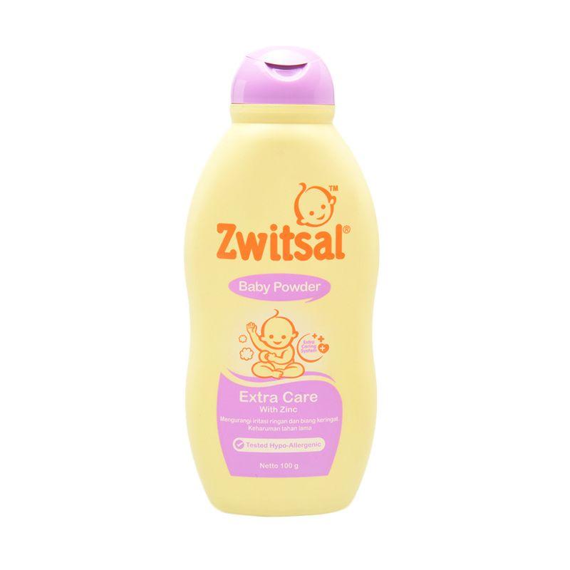 Zwitsal Extra Care Zinc Baby Powder 100gr - 60024413
