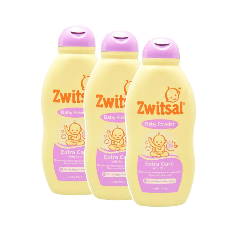 Jual Best Deal 11 Zwitsal Extra Care Zinc Baby Powder ...