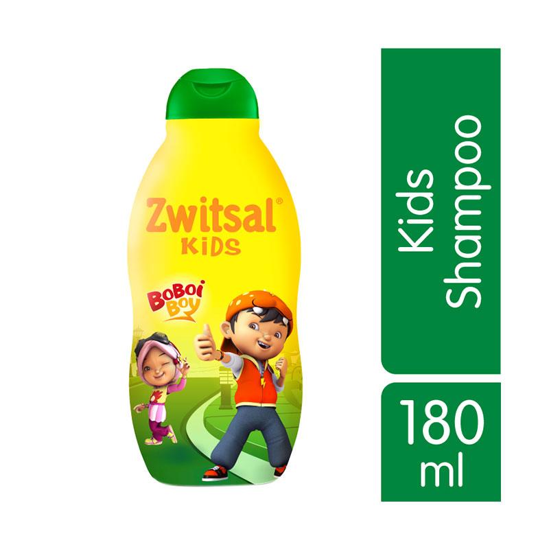 Zwitsal Kids Shampoo Natural Green aloe vera, kemiri & seledri [180 mL]