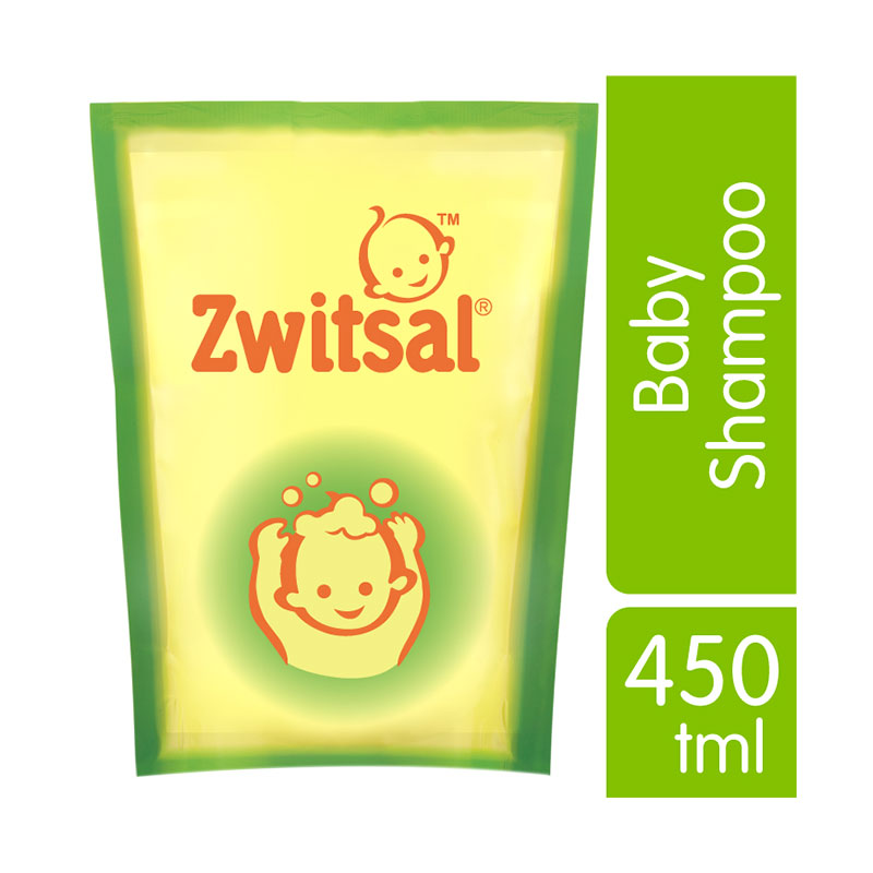 Zwitsal Natural 21152893 Baby Shampoo [450 mL/Pouch]