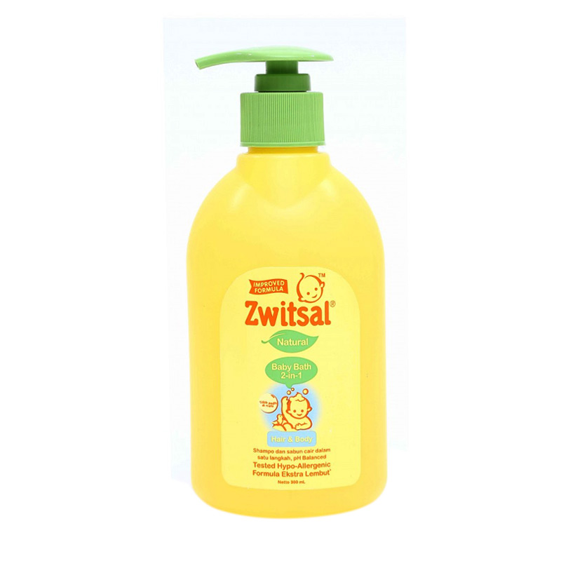 Zwitsal Natural Baby Bath 2 in 1 Hair & Body [300 mL]