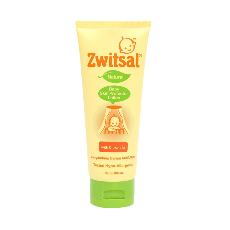 Zwitsal Natural Baby Skin Protector Lotion with Citronella [100 mL]