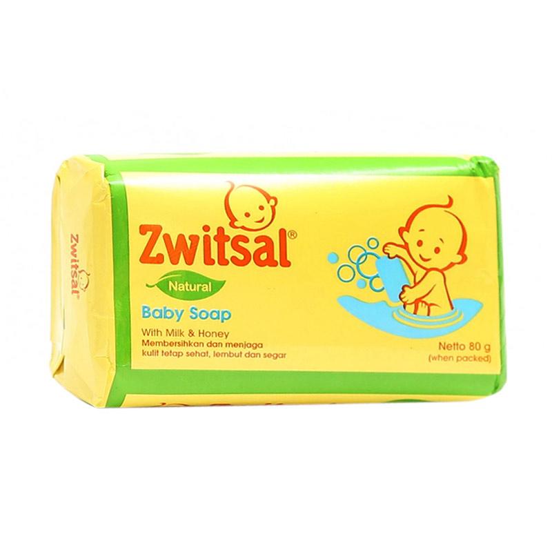 harga Zwitsal Natural Baby Soap with Milk & Honey Sabun Mandi Bayi [80 g] Blibli.com