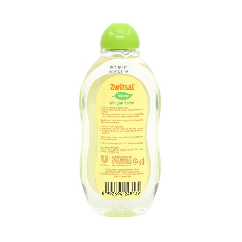 Jual Zwitsal Natural Minyak Telon [100 mL] Terbaru - Harga Promo Mei 2019   Blibli.com