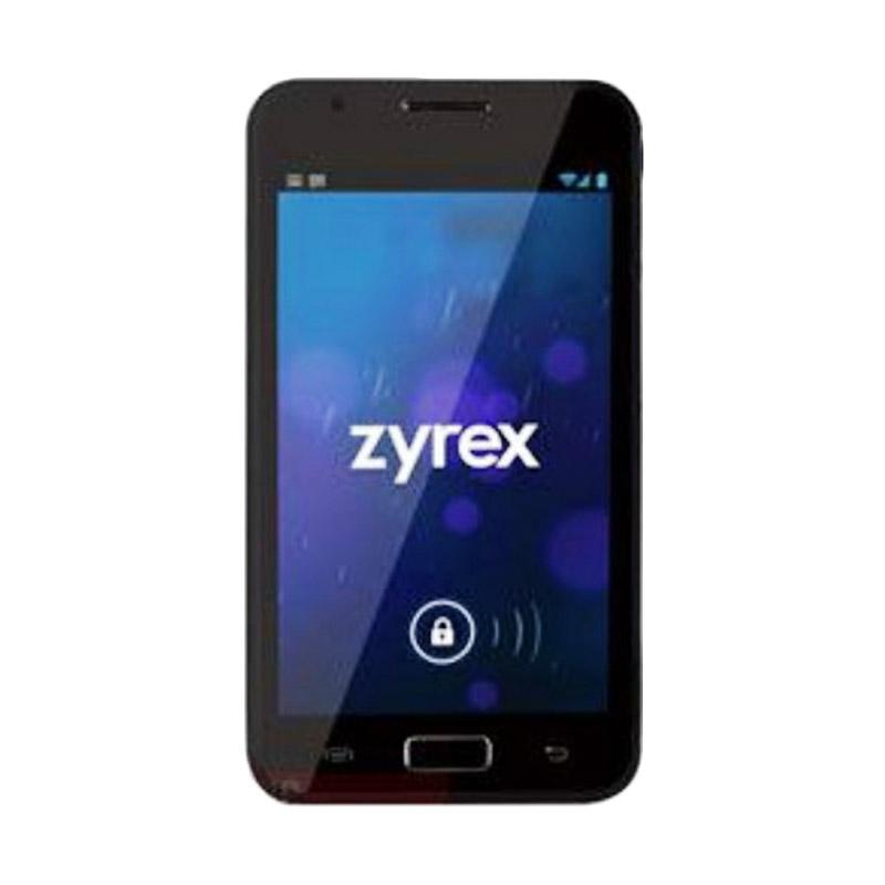 Zyrex ZA 987 Pro Android Smartphone - Hitam [4 GB]