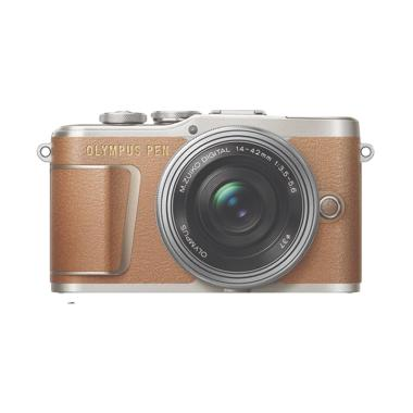 Olympus PEN E-PL9 Kit 14-42mm EZ Ka ... nus SDHC 32GB Black Brown