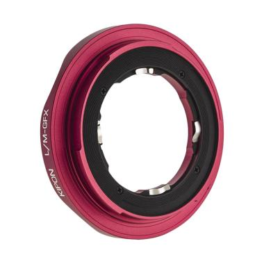 KIPON Leica M Lens to Fujifilm GFX Camera Adapter - Red