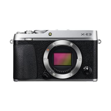 Fujifilm X-E3 Body - Silver +PWP XF ... an+Flash EF-X20+SDHC 32GB
