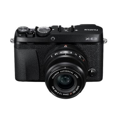 Fujifilm X-E3 Kit 23mm F2 - Black + ... an+Flash EF-X20+SDHC 32GB