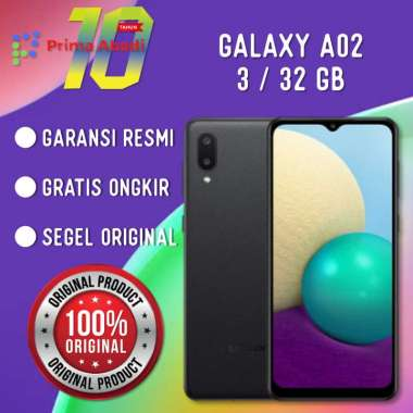 Samsung Galaxy A02 3/32GB Resmi Sein Black