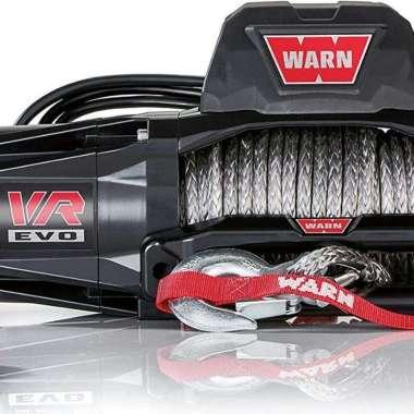 harga Winch Plasma VR EVO 12 Gen 3 WARN Syntetic Rope 5.5 Ton Hitam Blibli.com