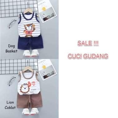 harga TERLARIS.. !! Baju Bayi laki-laki cowo baju kutang setelan katun import (seri 2) / NEW ORIGINAL 1-3 tahun DOG BASKET Blibli.com