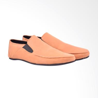 Azcost Monroe Sepatu Kulit Pria - Tan