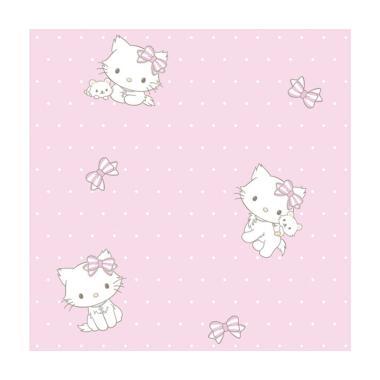 Sanrio Wallpaper Kt 108 Kids Collection Dekorasi Dinding Pink