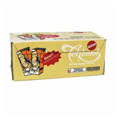Sosro Teh Botol Tetra Pack [250 mL/box]