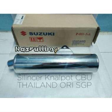 harga Silincer Knalpot Suzuki Satria Fu150 CBU THAILAND ORIGINAL SGP 2 SKAT Blibli.com