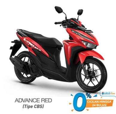harga Honda VARIO 125 CBS Sepeda Motor [VIN 2021] Advance Red Denpasar Blibli.com