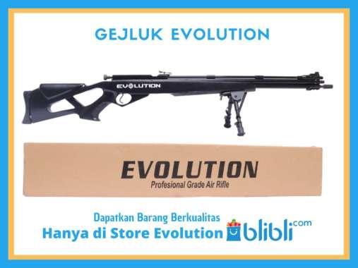SENAPAN ANGIN GEJLUK EVOLUTION GAMO HITAM HITAM