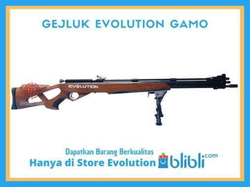 SENAPAN ANGIN GEJLUK EVOLUTION GAMO HITAM COKLAT