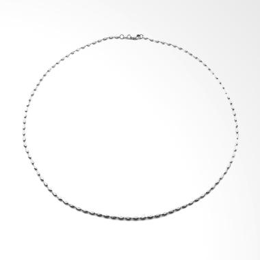 LINO S1610200128 Kalung Emas Putih 18K