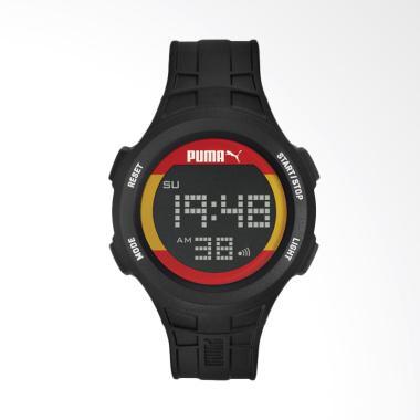 PUMA Stopwatch Light Flag Logo Dial ...  Pria - Hitam PU911301009