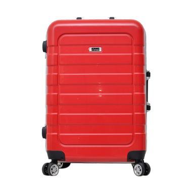 Dupont 8775 No Zipper Hardcase Koper - Merah [20 Inch]