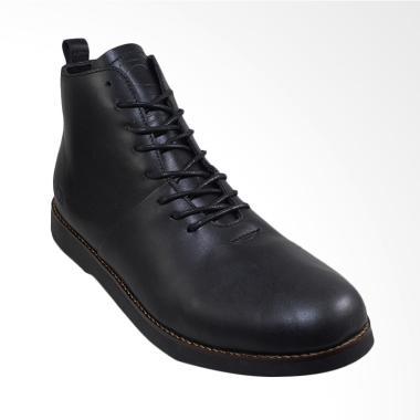 Daftar Harga Sepatu Boots Kulit Asli Pria Sauqi Footwear Terbaru ... 915870115f