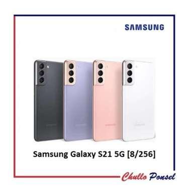 Samsung Galaxy S21 5G Smartphone [8/256 GB] Garansi Resmi SEIN Gray