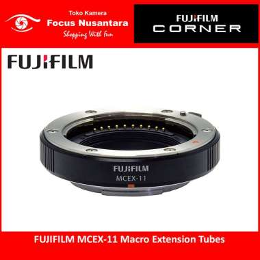 FOCUSNUSANTARA - FUJIFILM Macro Extension Tube MCEX-11 black