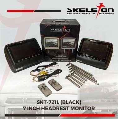 harga Headrest monitor 7 inch Skeleton - Hitam 100 % ORIGINAL Multicolor Blibli.com