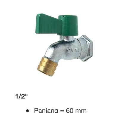 harga SJS Kran air onda kubm 1,2 inch kuningan murah Blibli.com