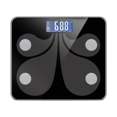 Timbangan Badan Digital TBB03 Smart ... droid and IOS App - Black