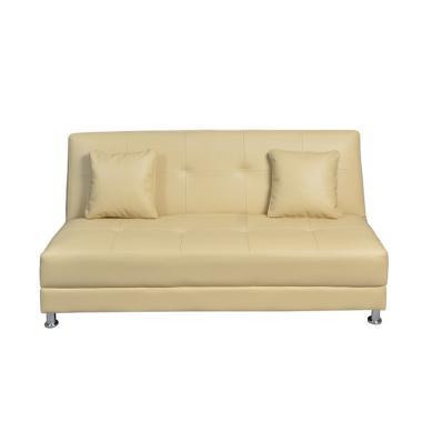 Olc Luxio Sofa Bed - Cream [Khusus Jabodetabek]
