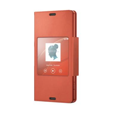 Sony SCR26 Case Style Up Flipcover  ... peria Z3 Compact - Orange