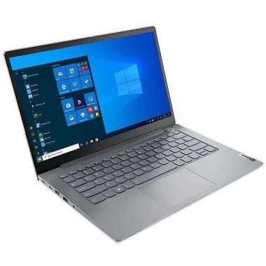 harga Lenovo ThinkBook 14s Yoga G2 20WE003FID , i5-1135G7,Xe Graphics/8GB/512GB SSD/WIN 10+ OHS 2019/ Blue Blibli.com