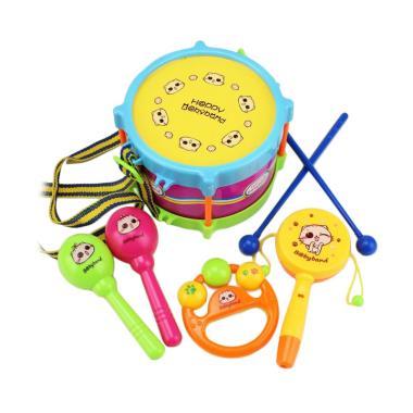 Best Alat Musik Mini Drum Set Mainan Bayi Anak