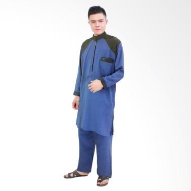 Java Seven Mmt 024 Baju Gamis Muslim Pria Baloteli Murah Dan Keren Source . Source · Jfashion Stelan Gamis Muslim Pria Tangan Panjang - Al Teaf Biru