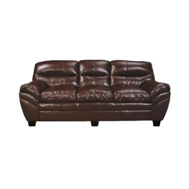 Ivaro Vera 3 Seater Sofa - Brown