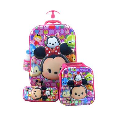 DJ Fashion 0405 6D 4in1 Set Tas Sekolah Anak