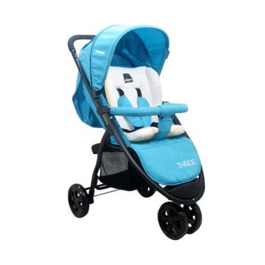 BabyDoes CH-463 Three Kereta Dorong Bayi - Blue