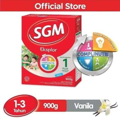 SGM 1+ Vanila 900g Susu formula SGM 1 plus